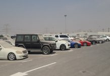 Ajman Police Seized Vehicles