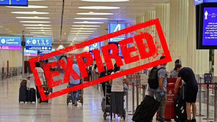 Expired UAE Visit Visa