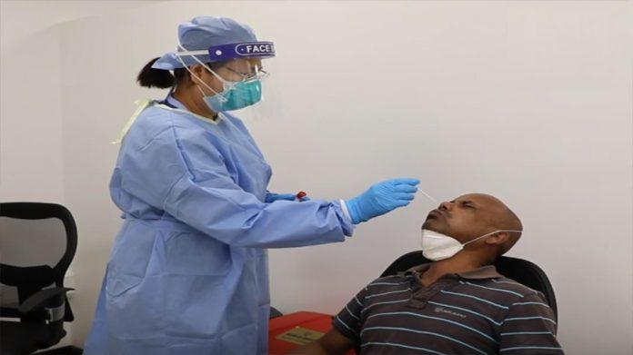 UAE Corona Virus test