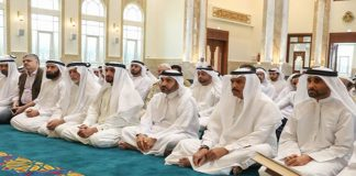 UAE Prayers in Mosques