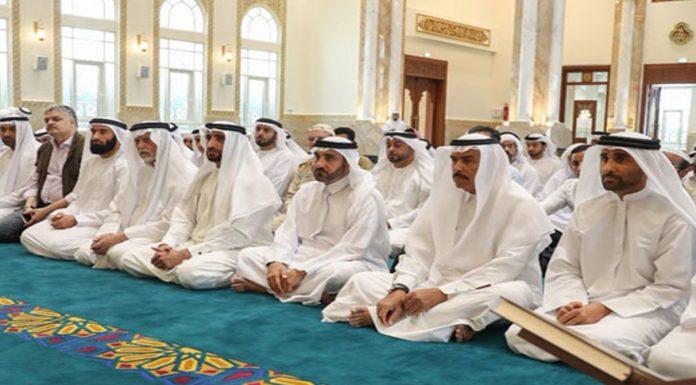 UAE Prayers in Mosques