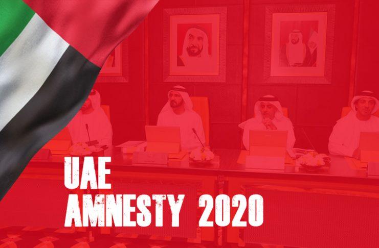 Amnesty UAE 2020 Amnesty Dubai 2020 2