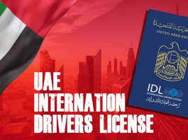 UAE International Drivers License
