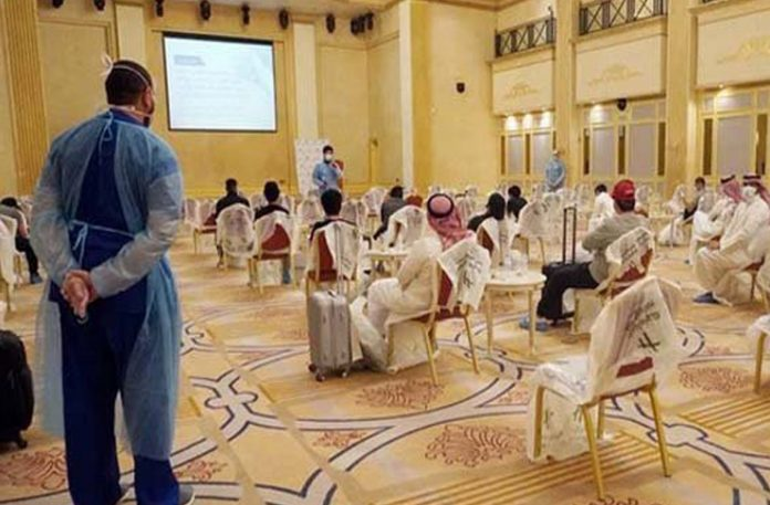 Saudi Arabia Non Vaccinated Residents