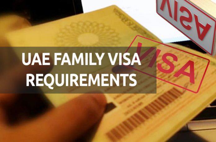 UAE Family Visa Requirements