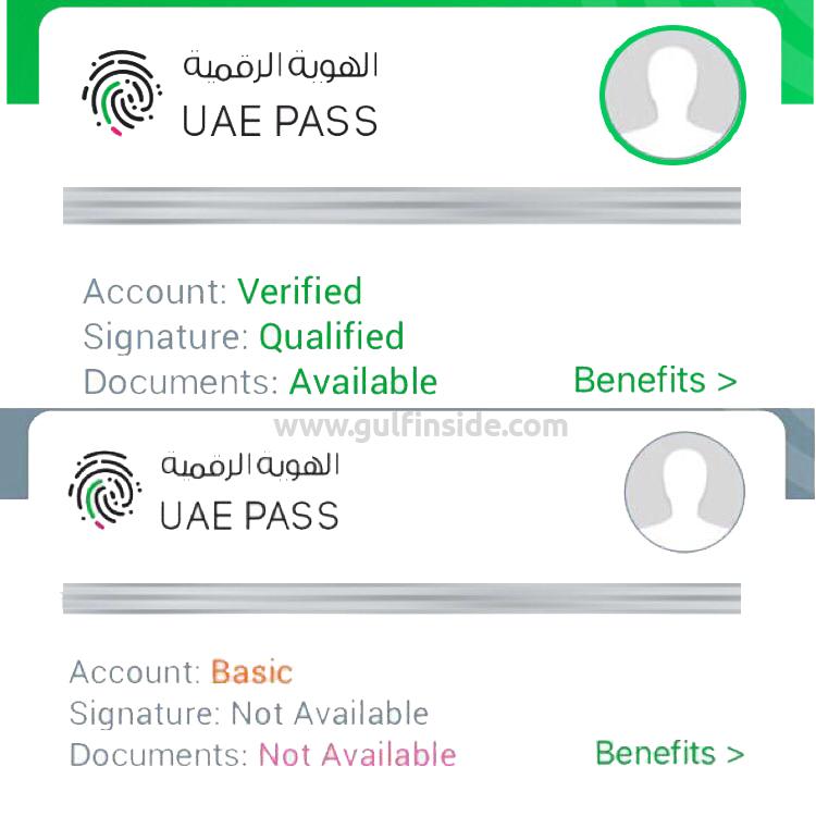 UAE PASS ACCOUNT