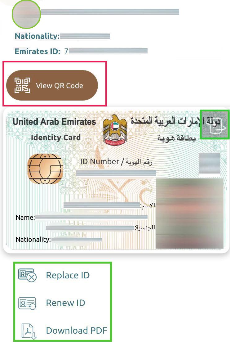 UAE PASS EMIRATES ID