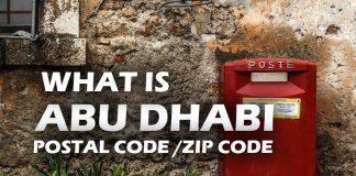 Abu Dhabi Postal Code Abu Dhabi Zip Code