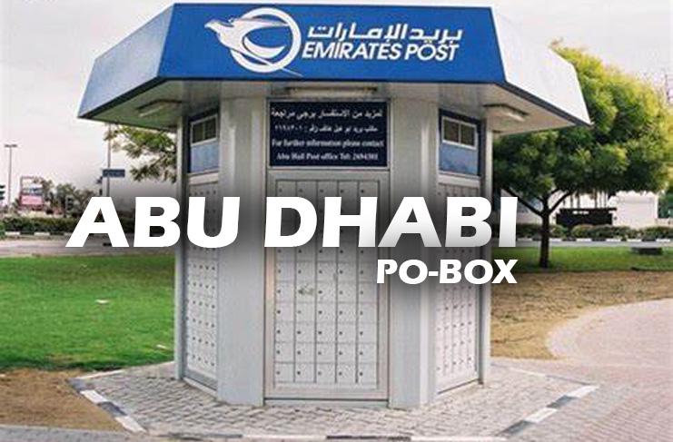 Abu Dhabi Postal Code Zip Code PO BOX