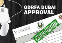 GDRFA Approval Dubai